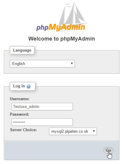 how to delete phpmyadmin information_schema